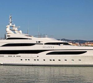 Charter luxury yacht Seanna in the Mediterranean