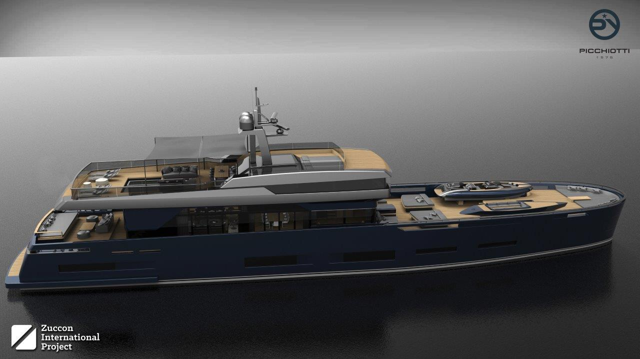 Zuccon concepept PY HERITAGE 45M for Picchiotti Yachts