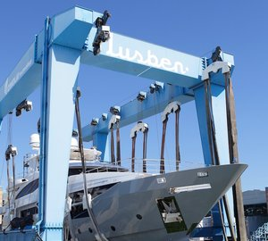 Motor Yacht Lejos 3 Launched at Benetti Shipyard in Viareggio