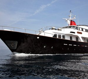 Special offer: Reduced rates for classic Mediterranean charter yacht Happy Day