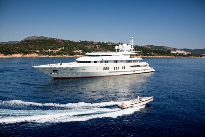 Coral Ocean yacht - Jeff Brown