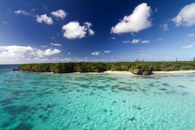 Gadji bay, Pines Island, New Caledonia. Photo by Flickr/mathieu