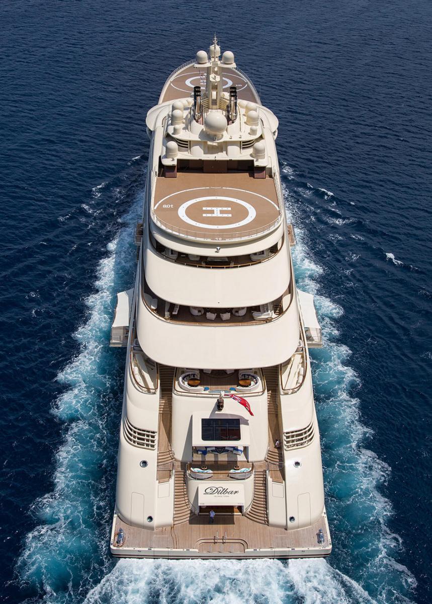 Lurssen Dilbar Credit Jeff Brown Yacht Charter Amp Superyacht News