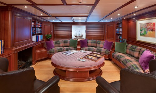 Luxury yacht ATHOS - Salon