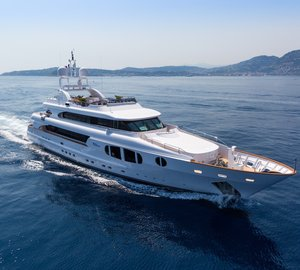 Mediterranean charter yacht Bina has a confirmed berth for the Cannes Film Festival