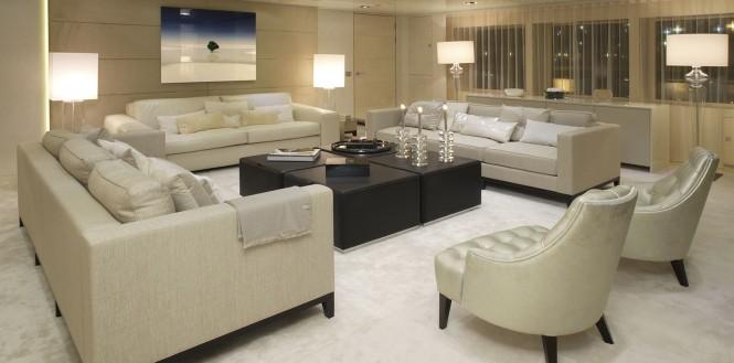 Luxury yacht ICON - Main salon