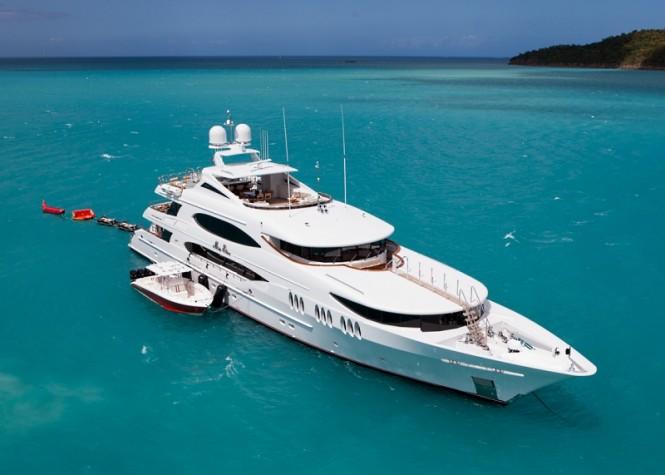 Luxury yacht IMPROMPTU (ex.MIA ELISE) - Built by Trinity Yachts