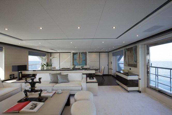 Luxury yacht SKYLER - Main salon