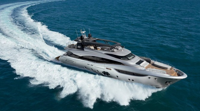M/Y Botti. Photo credit Monte Carlo Yachts