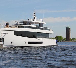 New from Feadship: 35M Superyacht CID hits water, ready to cruise