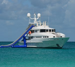 Charter superyacht At Last in the Caribbean