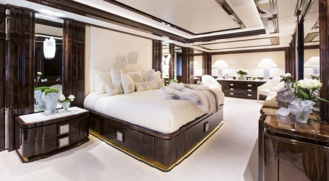 Motor yacht ILLUSION V - Owners Cabin