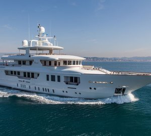 Special offer: June price drop for Mediterranean charters on M/Y PRIDE