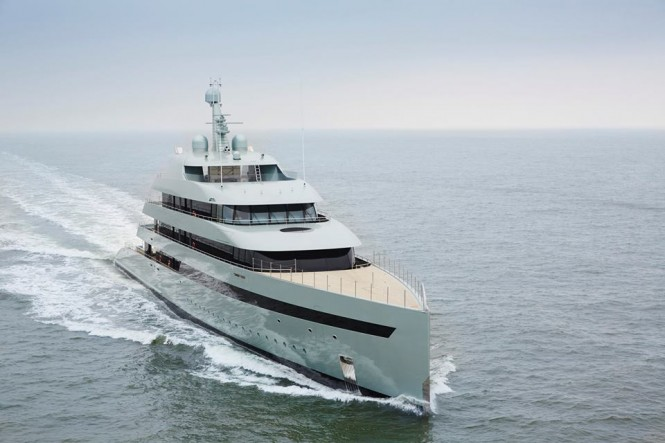 Motor yacht SAVANNAH - Built by Feadship. Photo credit: Feadship