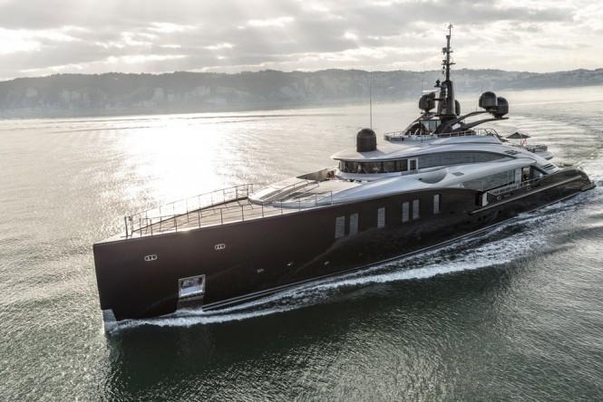 OKTO profile by ISA Yachts
