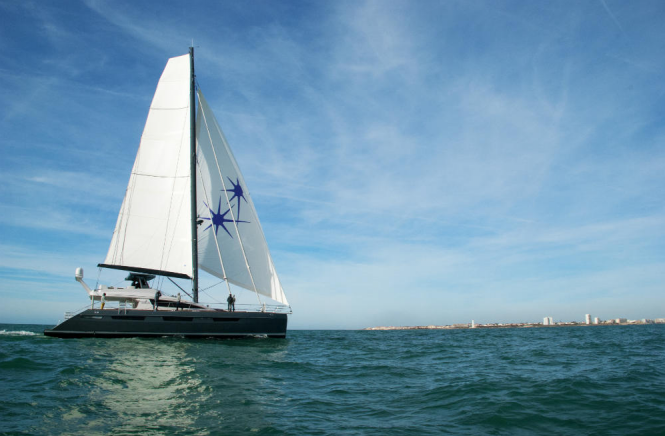 Sailing Catamaran NAMASTE - Photo credit Privilege Marine