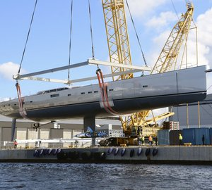 Baltic Yachts Launched the Highly Anticipated 54m Sailing Yacht Pink Gin VI