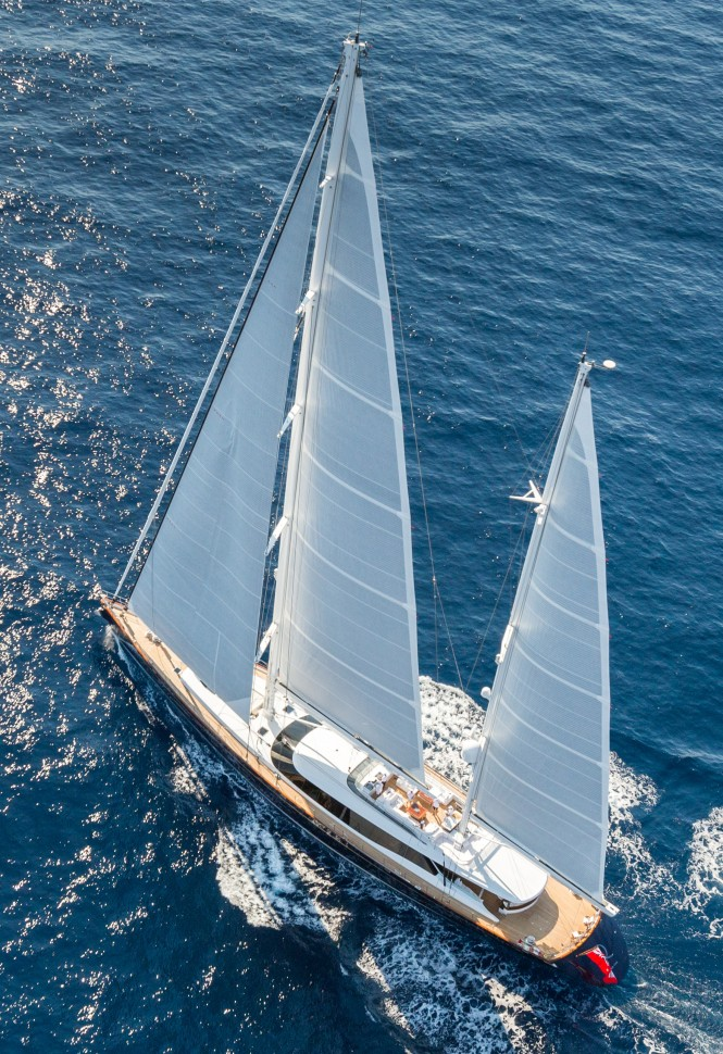 Sailing Yacht Q - Exterior - Photo by Quin Bisset