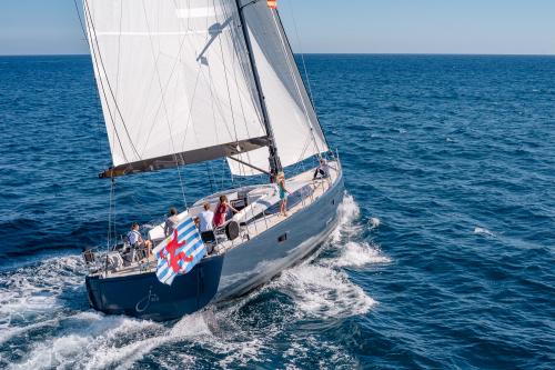 Sailing yacht J SIX - Built by CNB