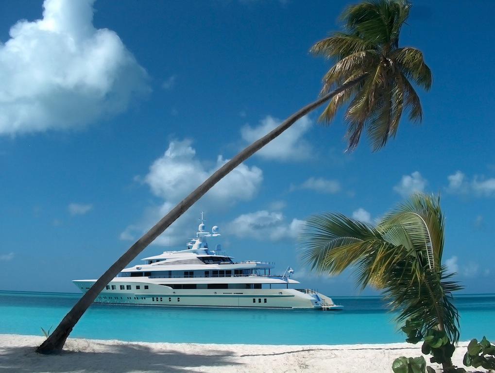 Superyacht AXIOMA (ex.RED SQUARE). Photo credit: Dunya Yachts