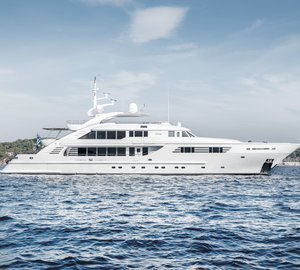 Charter superyacht Oasis in the Eastern Mediterranean