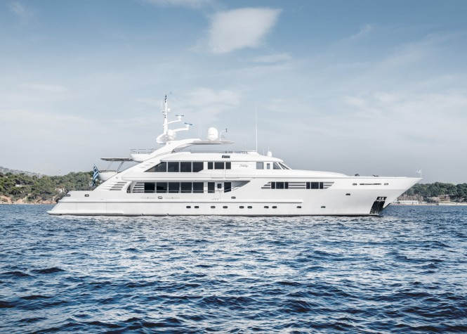 Superyacht OASIS - Built by ISA Yachts
