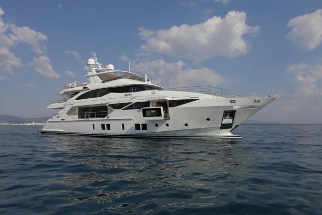 Superyacht SKYLER - Built by Benetti