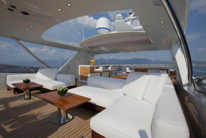 Superyacht SKYLER - Sundeck