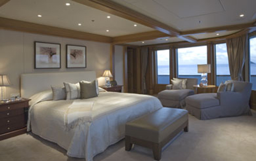 Superyacht UTOPIA - Master suite