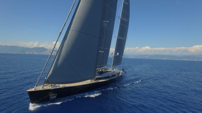 Perini Navi Sailing Yacht Sybaris