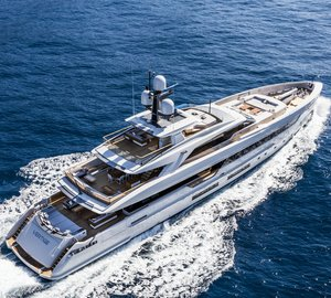 50m Superyacht Vertige Delivered and Ready for Charter