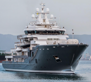 Recently Refitted Mega Yacht Ulysses in Gibraltar
