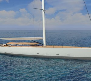 44m Sailing Yacht Wally 145 to be Launched in 2019
