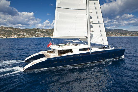 Luxury catamaran HEMISPHERE - Built by Pendennis