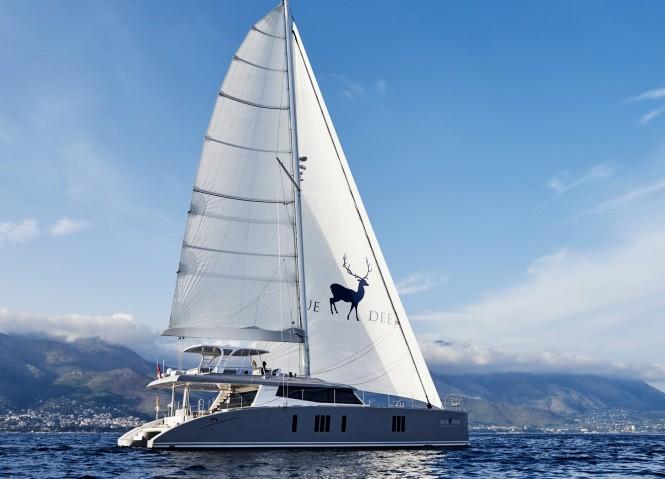 Luxury yacht BLUE DEER - Built by Sunreef