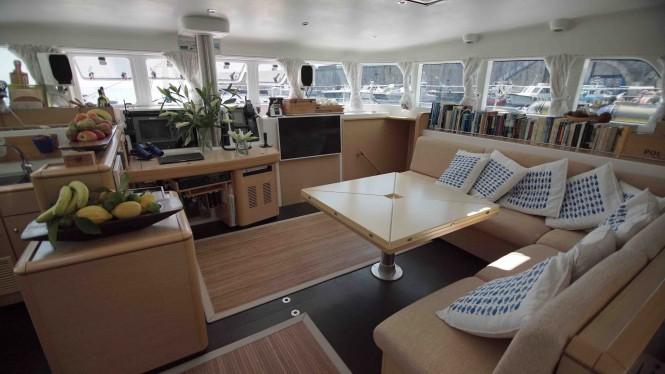 Luxury yacht OMBRE BLU - Salon