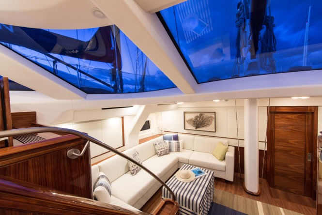 Luxury yacht PENELOPE - Lower salon