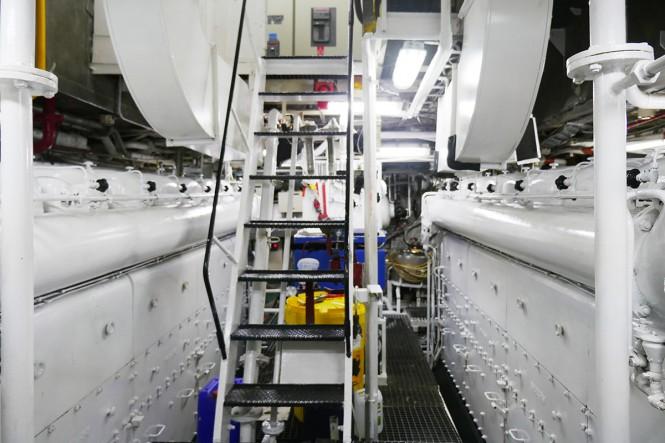 MENORCA yacht engine room - Photo credit Mare e Terra