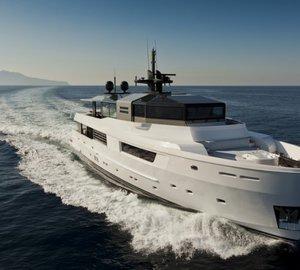 Eye-catching Arcadia superyacht M'Ocean ready for Western Mediterranean charter