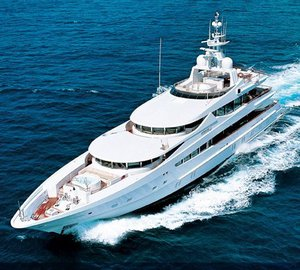 Superyacht Sunrise is ready for Mediterranean charters