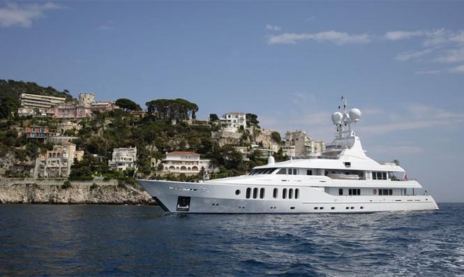 Motor yacht TALISMAN MAITON - Built by Proteksan Turquoise