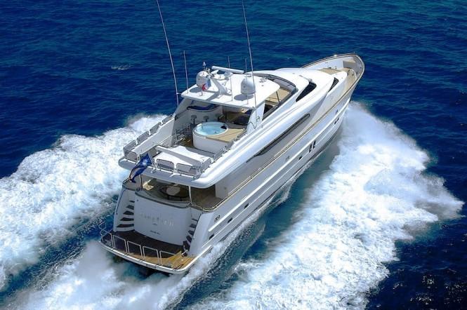Open yacht ANNABEL II - Built by Horizon
