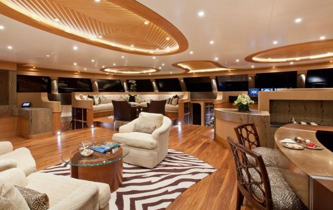 Sailing yacht HEMISPHERE - Salon