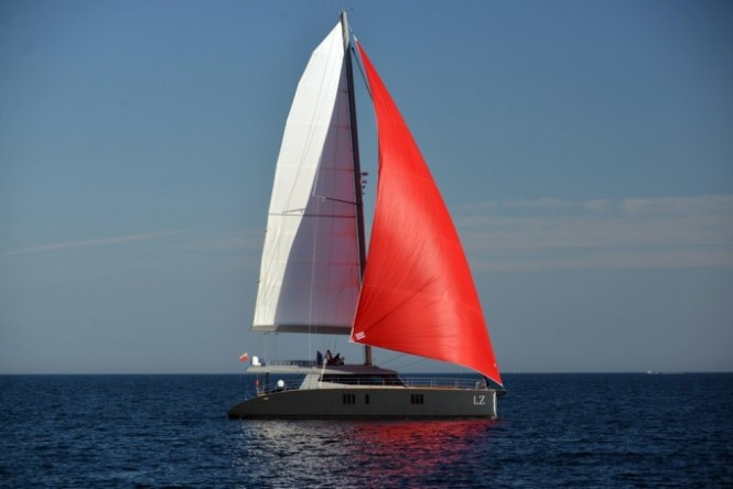 Sailing yacht LUCY Z - Built by Sunreef Yachts