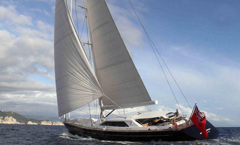 Sailing yacht STATE OF GRACE - Built by Perini Navi