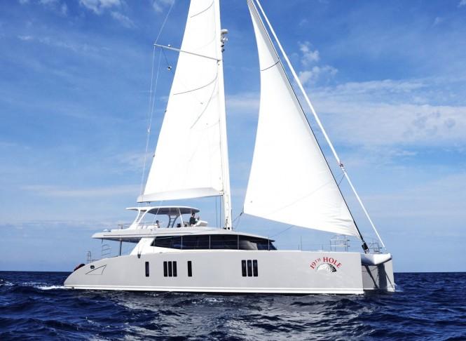 Superyacht 19TH HOLE - Built by Sunreef