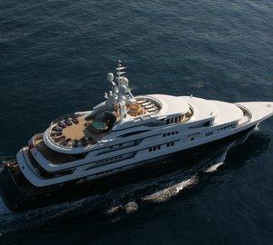 Take a lavish charter in the Mediterranean aboard M/Y Freedom