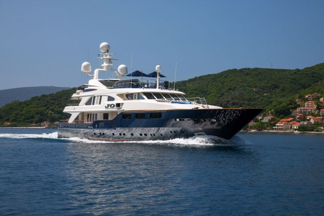 Superyacht JO - Built by Benetti