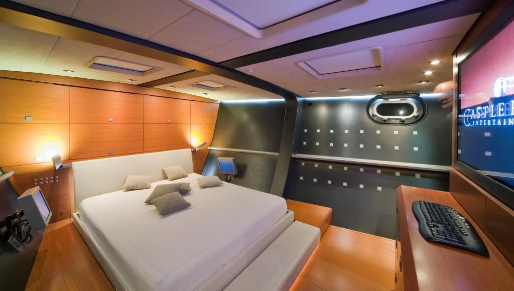 Superyacht YAMAKAY - Master suite