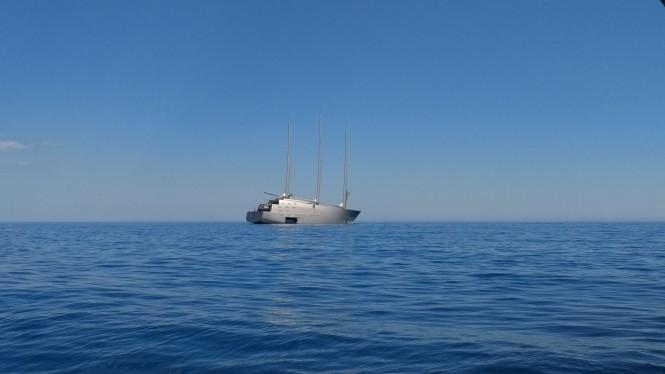 Sailing Yacht A. Photo Credit ChaterWorld